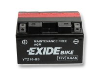 EXIDE BIKE Maintenance Free 8,6Ah, 12V, YTZ10-BS