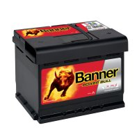 Banner Power Bull P62 19, 62Ah, 12V