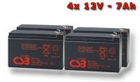 APC RBC59, battery replacement kit (4 pcs. CSB GP1272 F2)