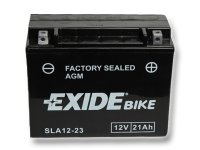 EXIDE BIKE Factory Sealed 21Ah, 12V, AGM12-23 (YTX24HL-BS)