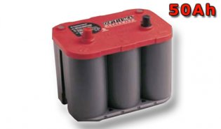 Optima Red Top S-4.2, 50Ah, 12V (802-250)