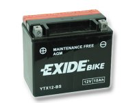 EXIDE BIKE Maintenance Free 10Ah, 12V, YTX12-BS