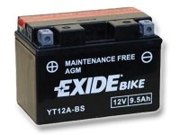EXIDE BIKE Maintenance Free 9,5Ah, 12V, YT12A-BS