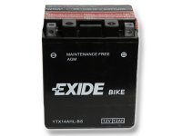 EXIDE BIKE Maintenance Free 12Ah, 12V, YTX14AHL-BS