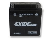 EXIDE BIKE Factory Sealed 9Ah, 12V, AGM12-9 (YB9-B)