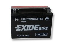 EXIDE BIKE Maintenance Free 13Ah, 12V, YTX15L-BS