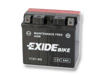 EXIDE BIKE Maintenance Free 6Ah, 12V, YTZ7-BS
